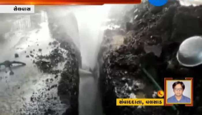 Water Wastage In Scarcity At Selvas
