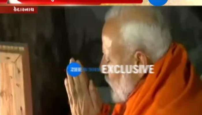 PM Modi meditates in Kedarnath's Gufa