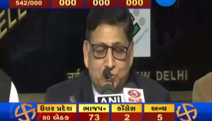 Election Commission Press Conference About Loksabha Election 2019