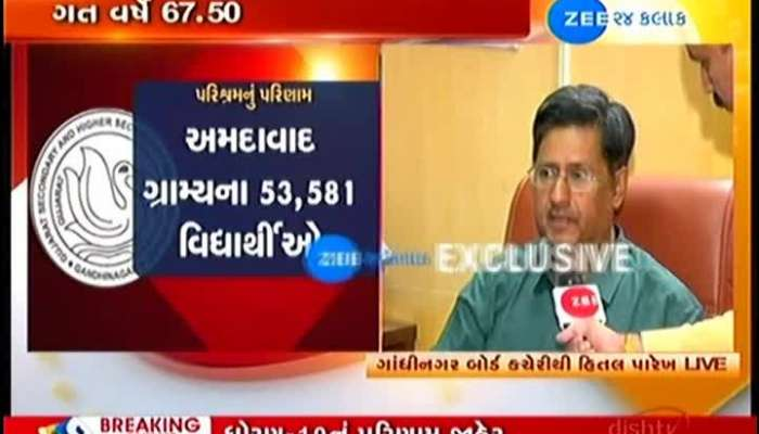 Gujarat Board Incharge Officer's Conversation Exclusively on Zee 24 Kalak