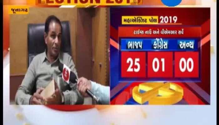 Loksabha Election 2019 Junagadh Candidate Punja Vansh's Reaction About Result
