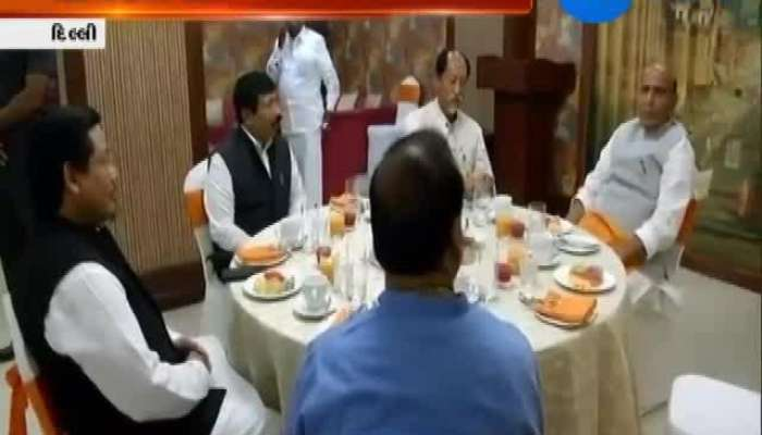 BJP Dinner Party And Celebration Preparation