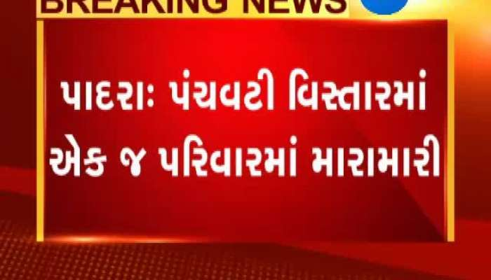 Vadodara Husband Attack On Family Member For Metal Torcher To His Wife
