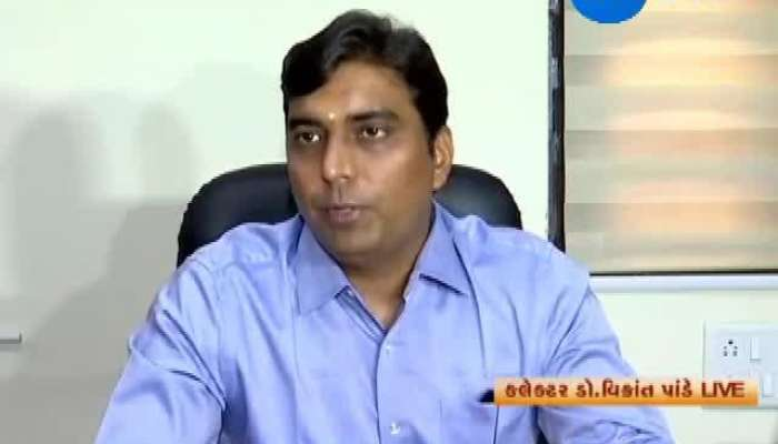 Ahmedabad: Collector Vikrant Pandya Talks About Voting Process