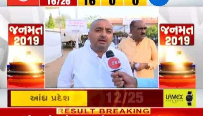 Loksabha Election 2019 results live: Gandhinagar BJP Pradipsinh Vaghela