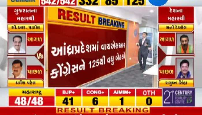 Loksabha Election 2019 results live: National Trend Result