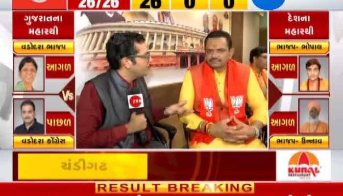 Loksabha Election 2019 results live: Jitu Vaghani Interview