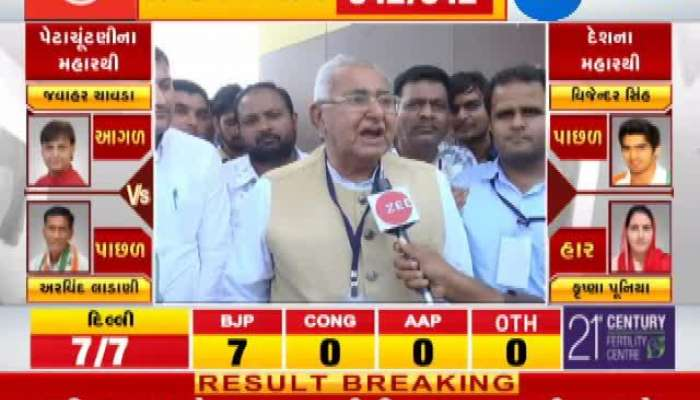 Loksabha Election 2019 results live: Parbat Patel Winning Interview