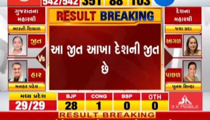 Loksabha Election 2019 results live: Amit Shah Winning Tweet