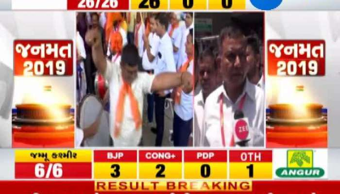 Loksabha Election 2019 results live: K.C.Patel Winning Interview
