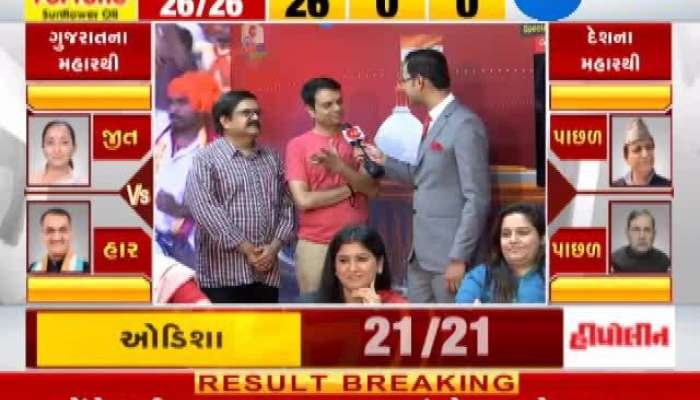 Loksabha Election 2019 results live: Singar Devang Patel Interview