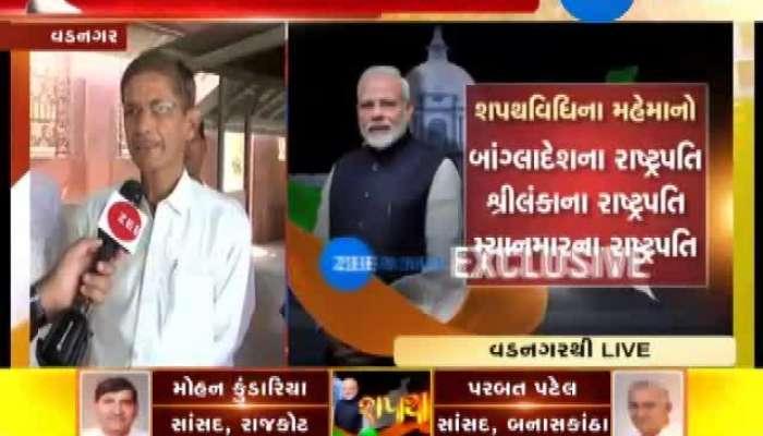 Vadnagar: People Happy For PM Modi's Win
