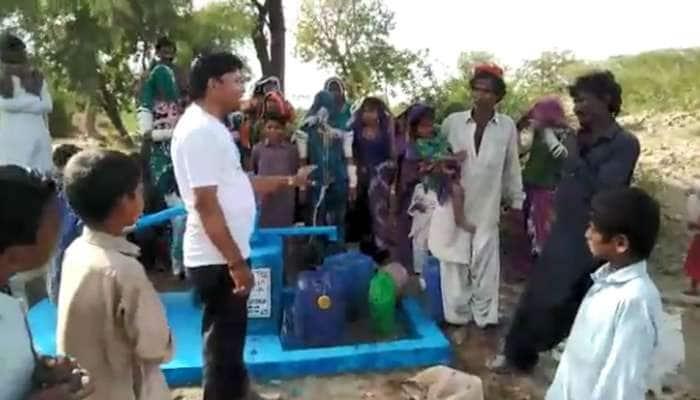 ભારતીય ઉદ્યોગપતિની ઉદારતા, પાક.ના નબળા જિલ્લામાં 62 હેન્ડપંપ અને અનાજ મોકલ્યું