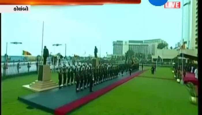 PM Modi Reaches Colombo