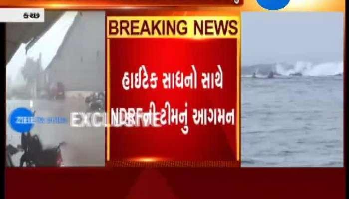 NDRF Team Reaches Kutch
