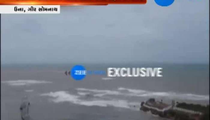 Authorities in Action At Coastal Areas in Una and Diu