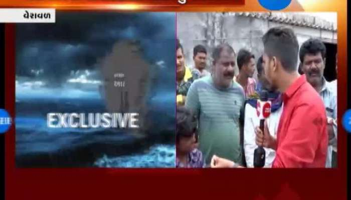 Veraval: Villagers Deny To Leave Place Despite Possibilities of Cyclone
