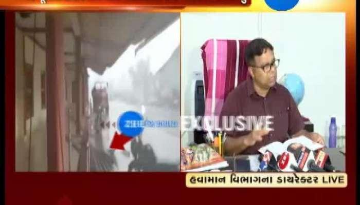 Gujarat:  Climate Dept. Director talks Ahead of Cyclone