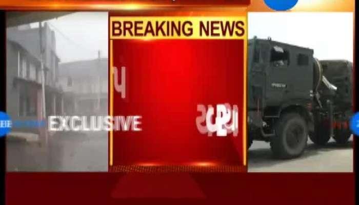 Army Deployed in Porbandar Ahead of Cyclone