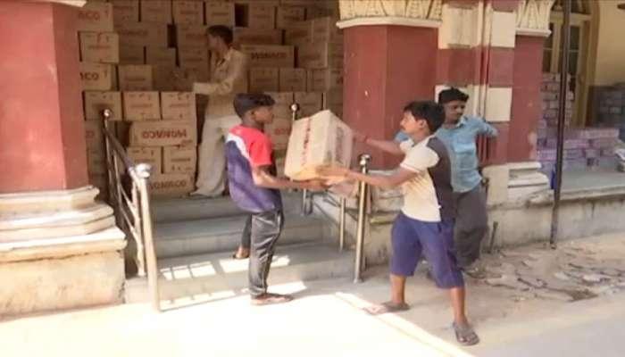 'વાયુ'ના અસરગ્રસ્તો માટે ગુજરાતમાં ઠેકઠેકાણે બની રહ્યાં છે ફૂડ પેકેટ્સ