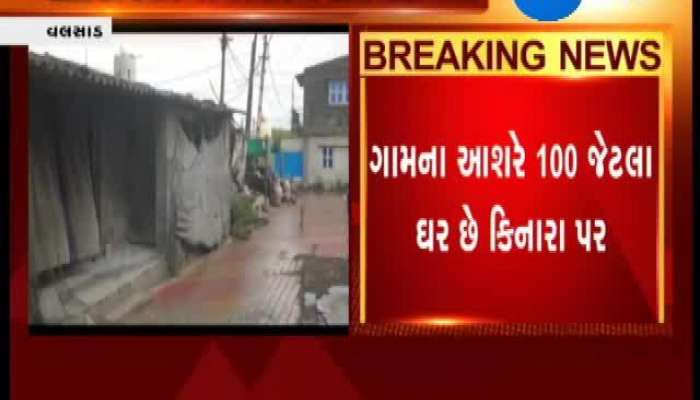 No Steps Taken At Valsad's Diva Dandi Village Regarding Cyclone