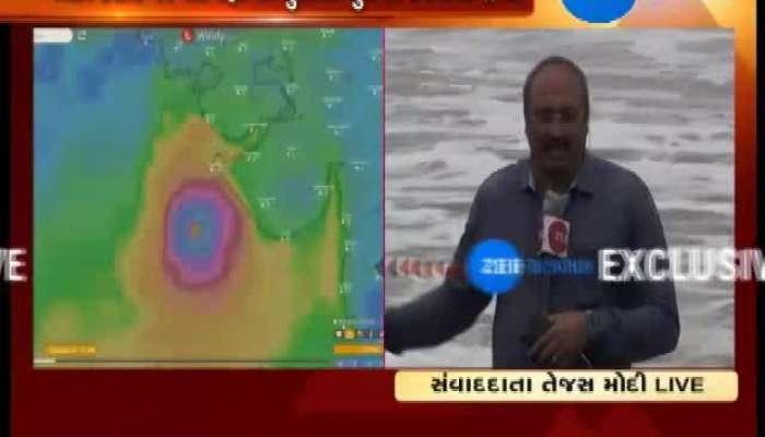 Surat: High Tides in Suvali Sea