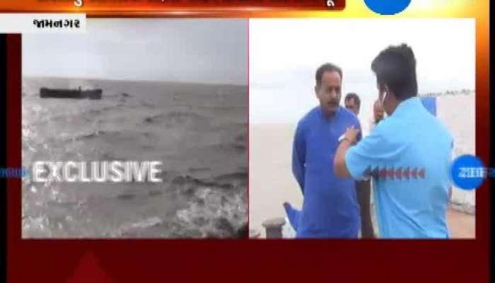 Jamnagar: Authorities Visit Harbours And Sea Coasts