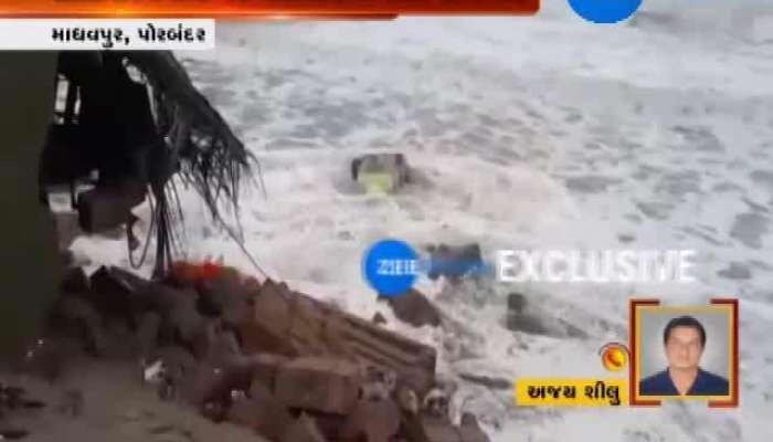 Porbandar: Building Collapses, Villagers Injured