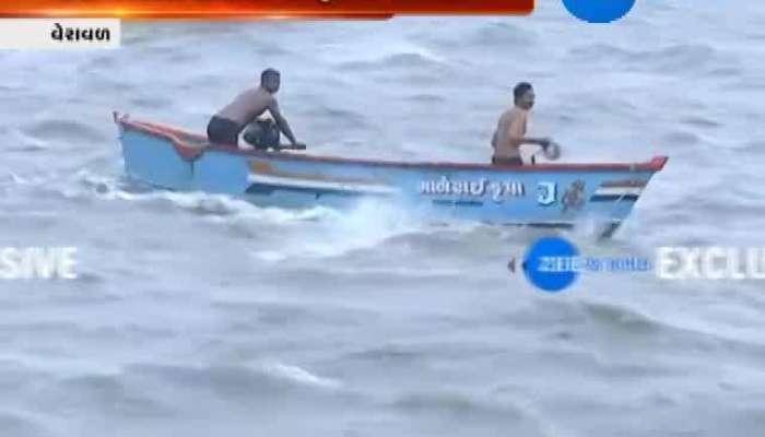 Veraval : Boat Drowns in Sea