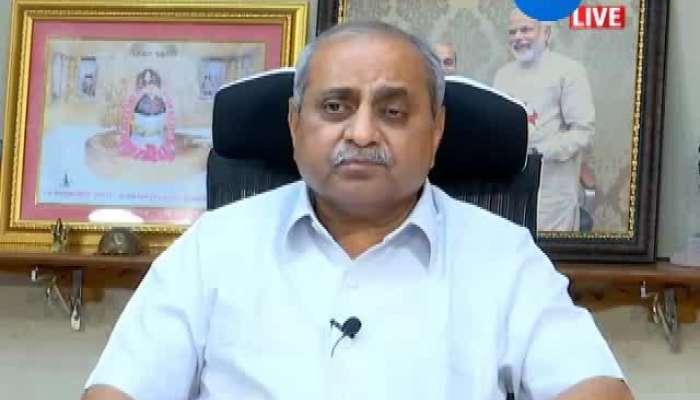 Deputy CM Nitin Patel Holds Press Conference About Medical Course Entrance