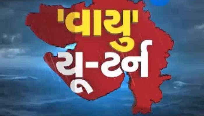 Effect of Vayu cyclone in Gujarat