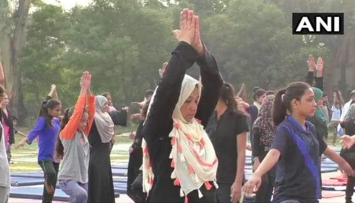 અલીગઢ મુસ્લિમ યુનિવર્સિટીમાં યોગ દિવસની તૈયારી, 7 દિવસની શિબિરનું આયોજન