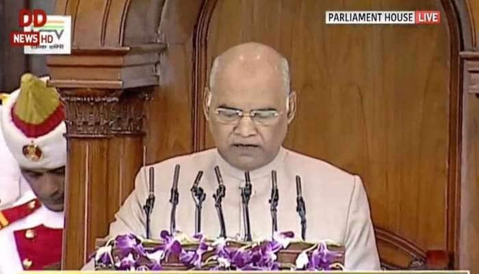 દેશની જનતાએ વિકાસની ગતિને તેજ કરવા માટે જનાદેશ આપ્યો: રાષ્ટ્રપતિ રામનાથ કોવિંદ