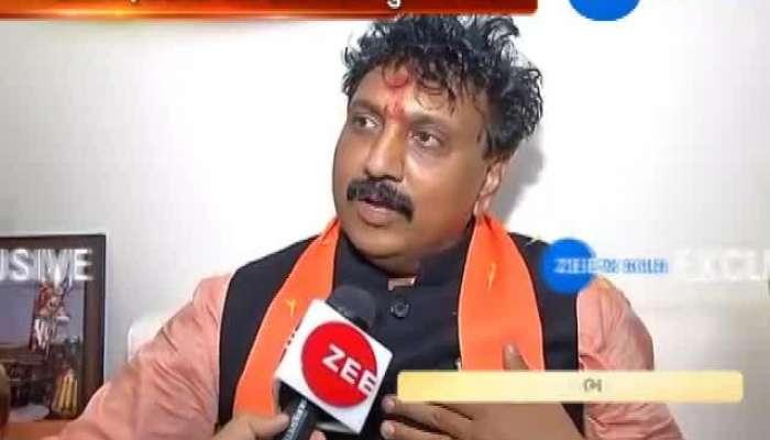 bjp candidate jugalji thakor made conversation with zee24kalak