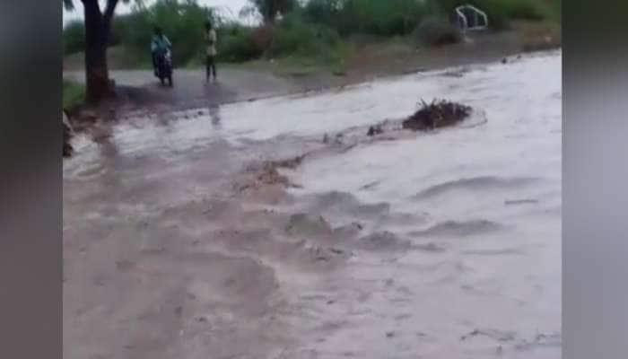 સાવરકુંડલામાં પ્રથમ વરસાદનો કહેર, નદીના ઘોડાપૂરમાં તણાવાથી મહિલાનું મોત