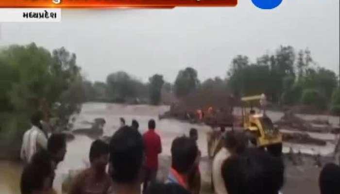Flood at sukhi river of MP