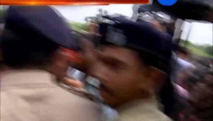 Police arrest 40 congress leader of Khedut samvedana yatra