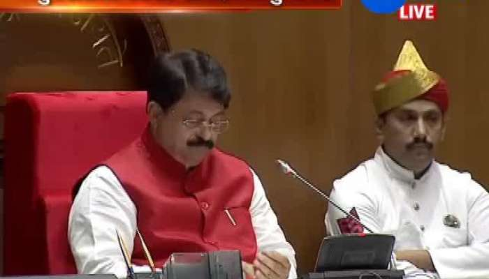 Gujarat Budget Announced In Vidhansabha