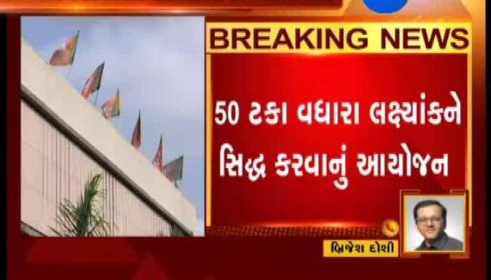 Gujarat: BJP To Hold Meeting Regarding 'Sadasyata Abhiyan'