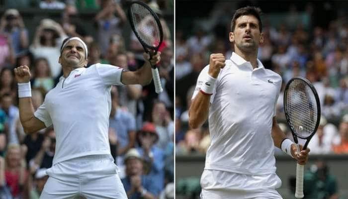 Wimbledon 2019: વિમ્બલ્ડન ફાઇનલમાં આજે જોકોવિચ અને ફેડરર વચ્ચે ટક્કર