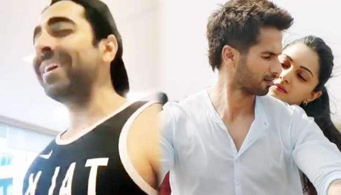આયુષ્માન ખુરાનાએ ગાયું 'કબીર સિંહ'નું ગીત 'બેખ્યાલી', VIDEO જોઇને તમે ઓરિજનલ ભૂલી જશો