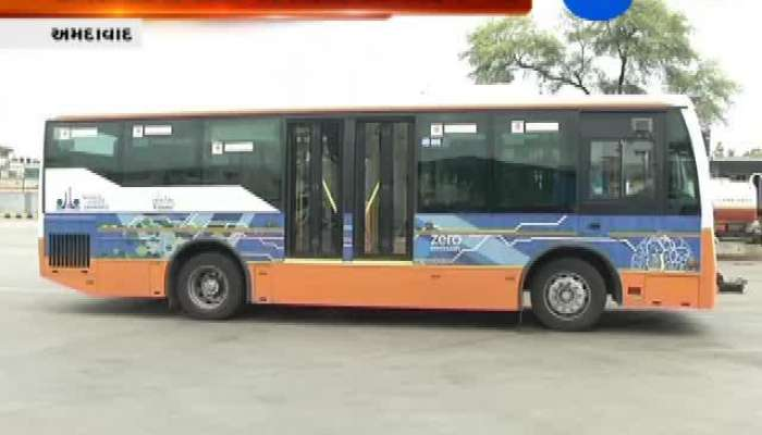 8 Electric Bus Will Run In Ahmeabad City