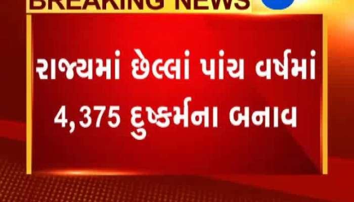 Shocking figure of molestation in Gujarat