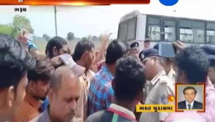 Bharuch: Fishermen Protest