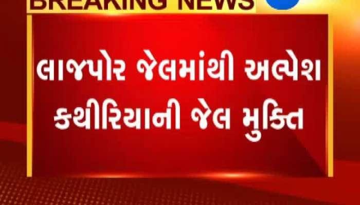 Patidar Leader Alpesh Kathiriya Released From Jail