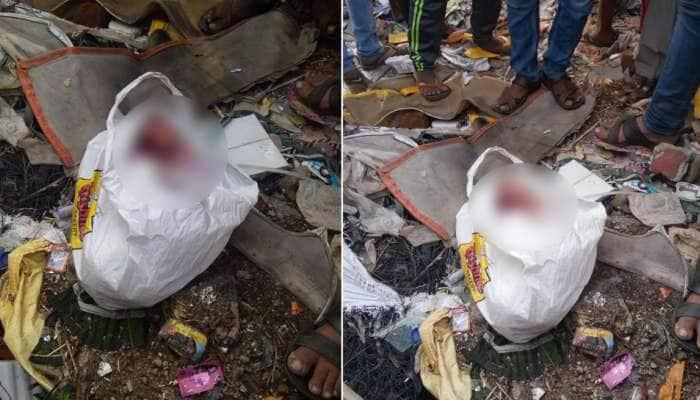 અમદાવાદ: કચરાના ઢગલામાં પડેલી પ્લાસ્ટીકની થેલીમાંથી મળી 'નવજાત બાળકી'