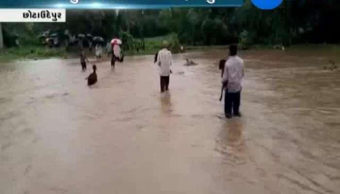 Rain situation of chhota udaipur