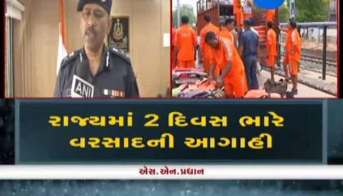 Gujarat: NDRF Teams Deployed In Flood Sensitive Areas