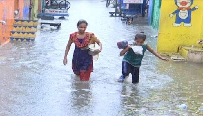 રાજકોટમાં ધોધમાર વરસાદ : ન્યારી ડેમમાંથી પાણી છોડાતા 19 ગામોને એલર્ટ કરાયા
