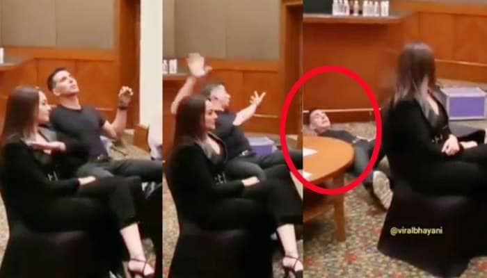 VIDEO : અક્ષયને ક્યારેય જોયો છે ધબ દઈને જમીન પર પડતા? આવું થયું કારણ કે...